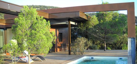 Architecture métallique maison