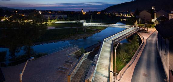 Pont métallique Raon l'Etape